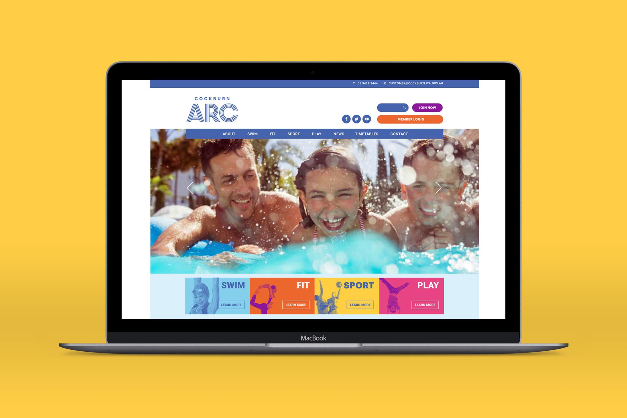 Cockburn ARC – Website
