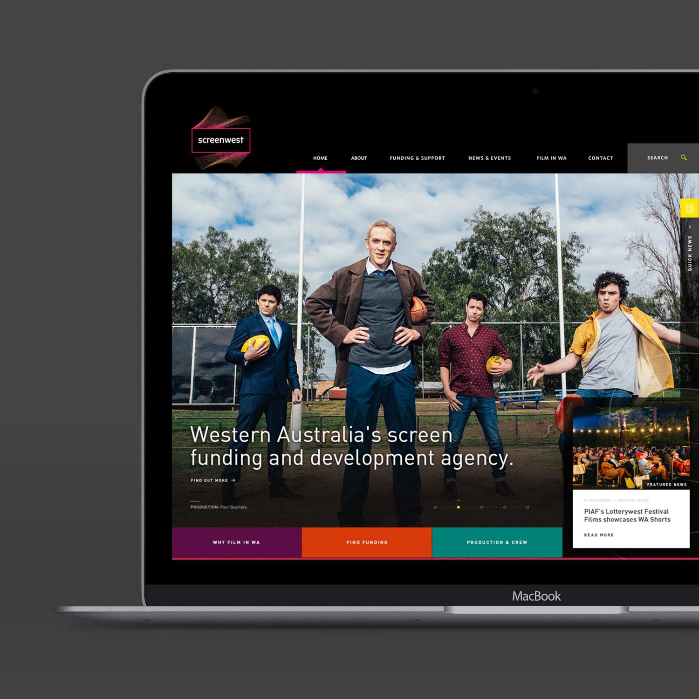 Screenwest – Website