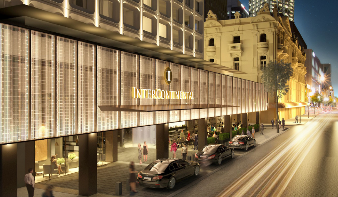 Intercontinental – Brand Signage