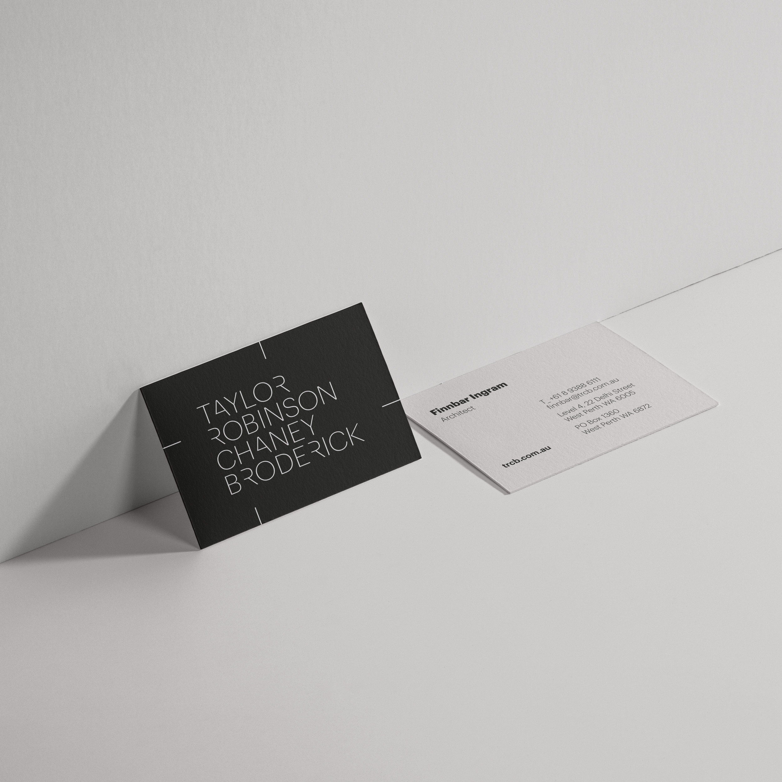 Taylor Robinson Chaney Broderick – Business Cards
