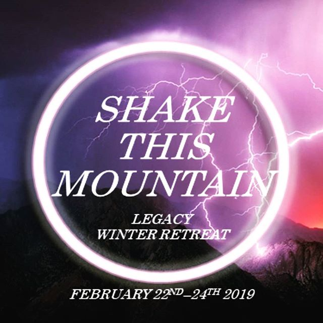 Hey Legacy!! Its that time of year again, our winter retreat!! Its not too late to sign up if you haven't. February 22-24! Its going to be a great, fun filled, spirit led, God moving weekend so dont miss out. To ensure a spot for this event please turn in your non-refundable deposit and liability waivers by February 12th 2019. Once signed up you will receive a detailed agenda of the weekend and what to bring. For further information regarding the retreat go to the ChurchTwo42 website (link in bio), click callander, and you'll see our retreat up there. Click on it and it will give you all the information you need as well as permission slips needed. Hope to see you all tomorrow at Legacy!!