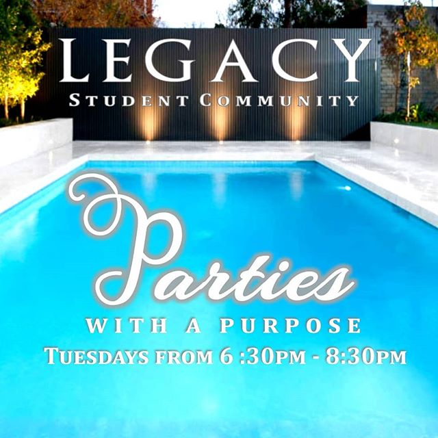 Our first pool party is tomorrow! Bring your friends bring your family members cause we're gonna have fun! Make sure to get the permission slips printed and signed before you get to legacy. If you do not have the slip you cannot swim. All you need is one for the entire summer! Also remember to check the address for tomorrow. Both address and permission slips are on our website, link in bio. Click on the week of the pool party and it will take you to the permission slip and address. We can't wait to see you all tomorrow at 6:30!!