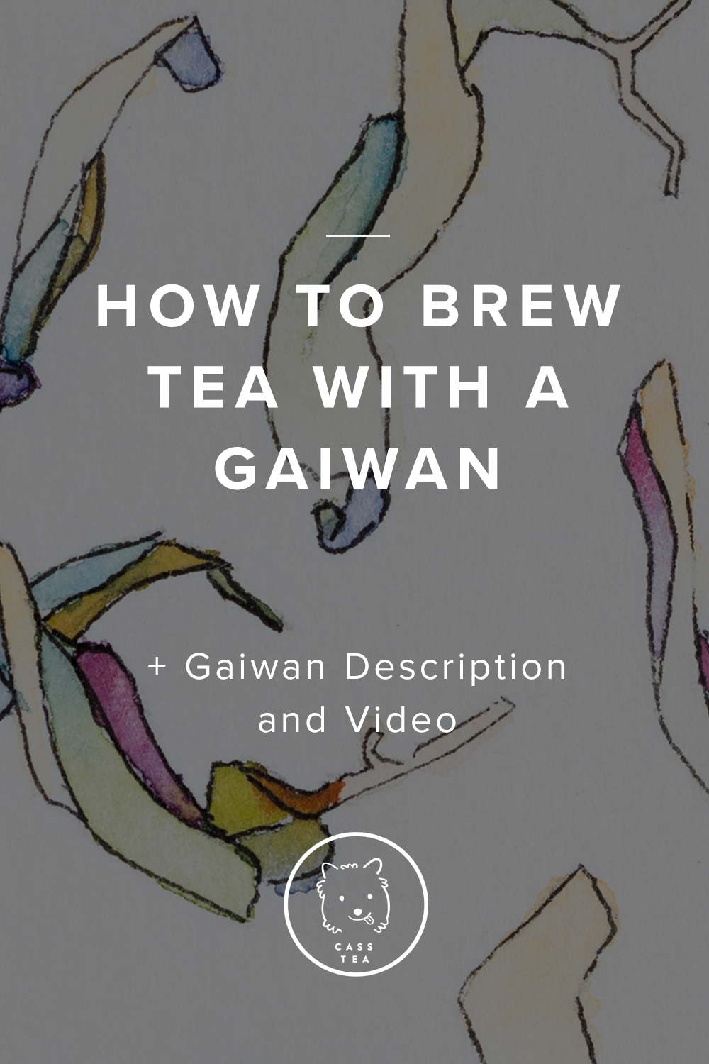 If you want to taste the full range of flavors locked inside your leaf, resist the bitterness, and get your moneys worth - the Gaiwan is for you. Western mugs, over brewed and flooded with too much water, remove the subtleties otherwise present. Just like a Wine Glass is made to heighten the experience of your favor Red, and with Tea, you need the right tool for the job. This quick article will teach your in 4 easy steps how to Brew with a Gaiwan.