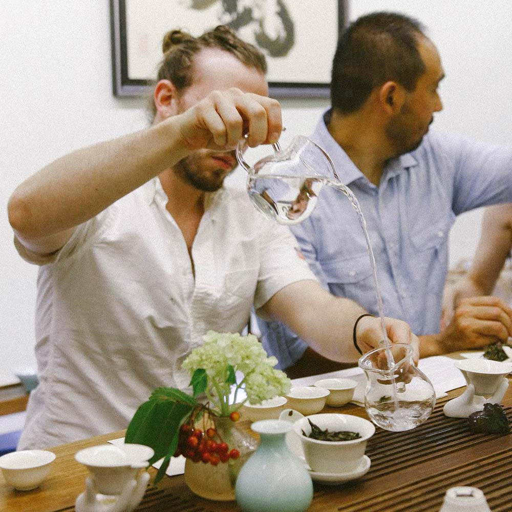 Brewing Green Tea with Gong Dao Bei