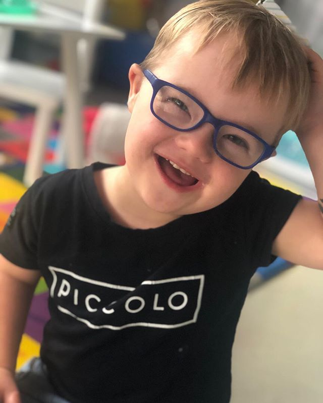 "Repost from one of the most treasured and fierce mums I am blessed to have in my world @simoneclucas • "" You have been pushed since day one to achieve what others do without a thought. You have been poked and prodded since the day you entered this world. You have endured more than we could both bare at times. Down Syndrome is the smallest part of who you are. I hope that people see your little flat nose and your almond eyes and they admire you, not judge you...if only they knew what I knew. I hope that people are as kind in your future as they are today when you are so bloody cute. I hope that you always know how special you are. Not special because you have Down syndrome, special because you have love and enthusiasm for everything. Special because you fight to achieve the smallest tasks. Special because you have fight in you. I hope no one ever dulls your sparkle, because you shine bright! "" • 🌟Happy World Down Syndrome Day to all the sparkles and their loved ones. We love you Nye 😘 xxx🌟"