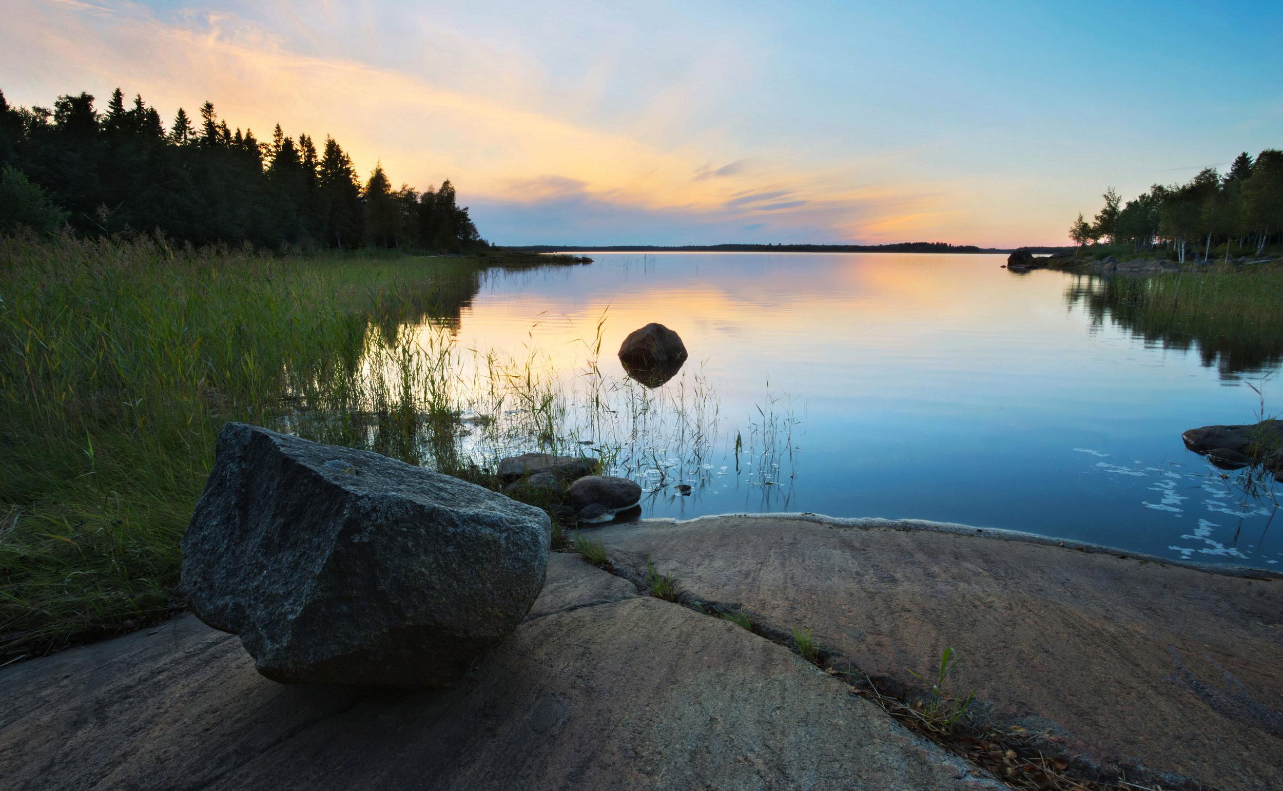 Finnish Late Summer Evening
