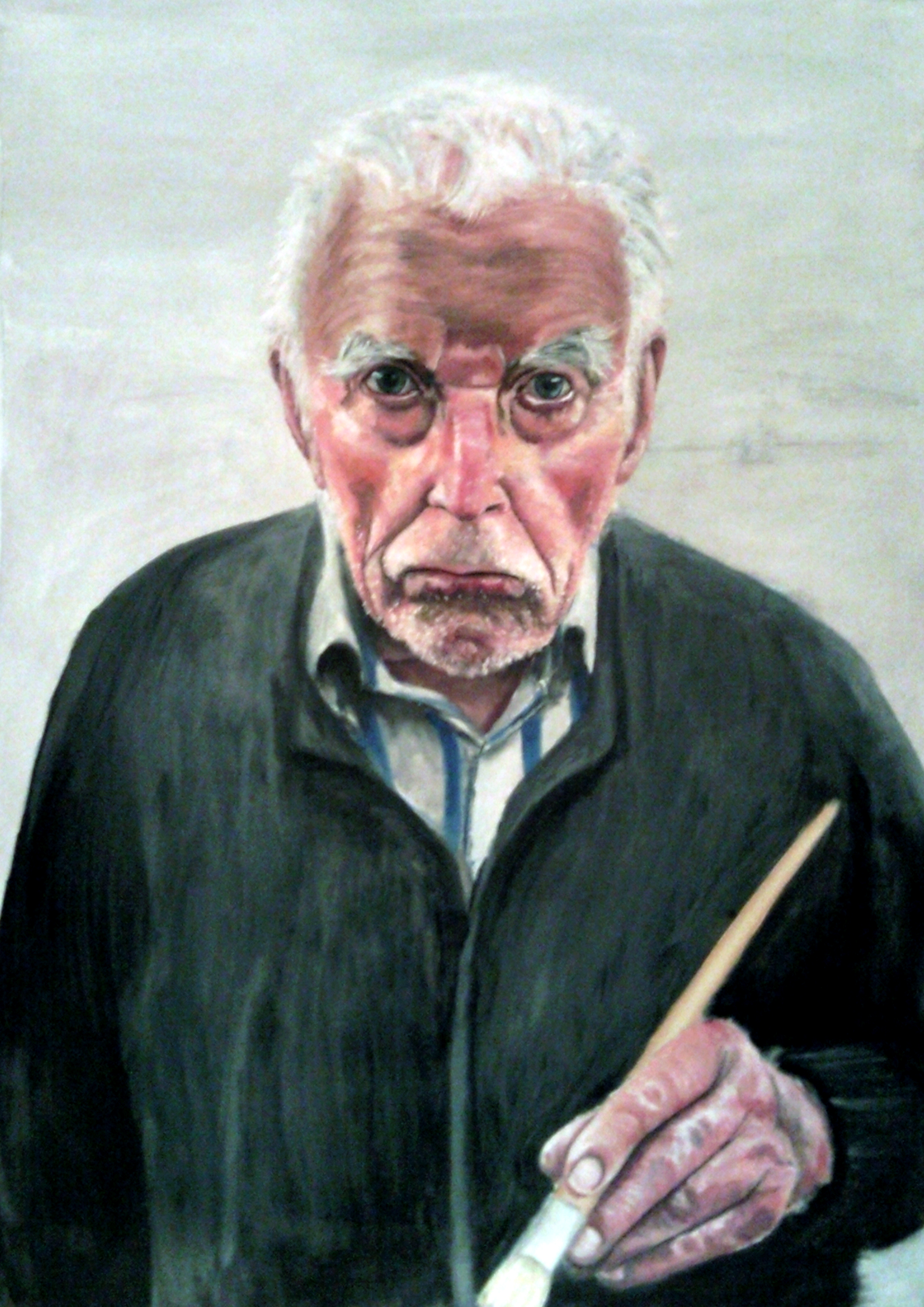 Grandad Oil Painting