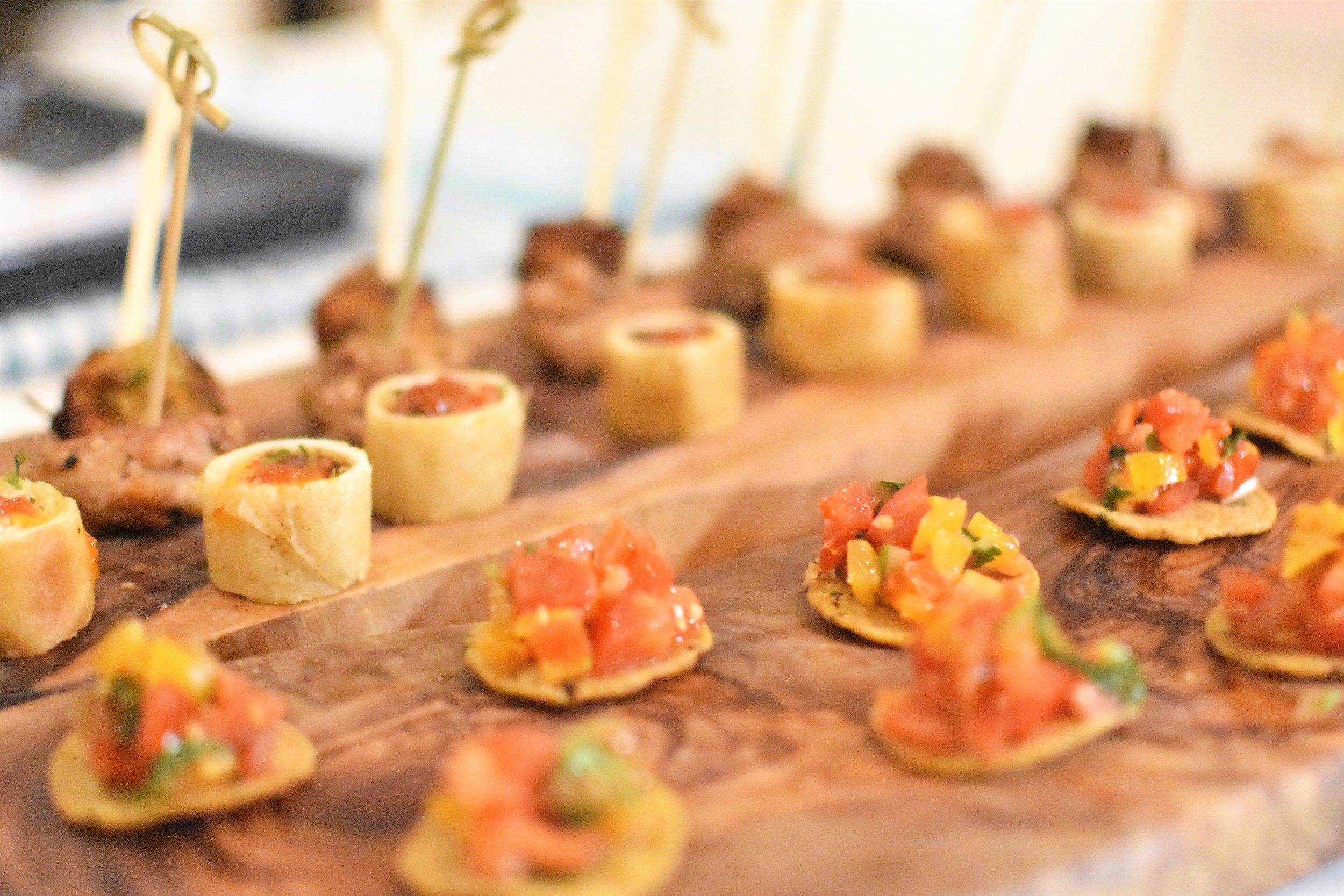 ChefGary canapes