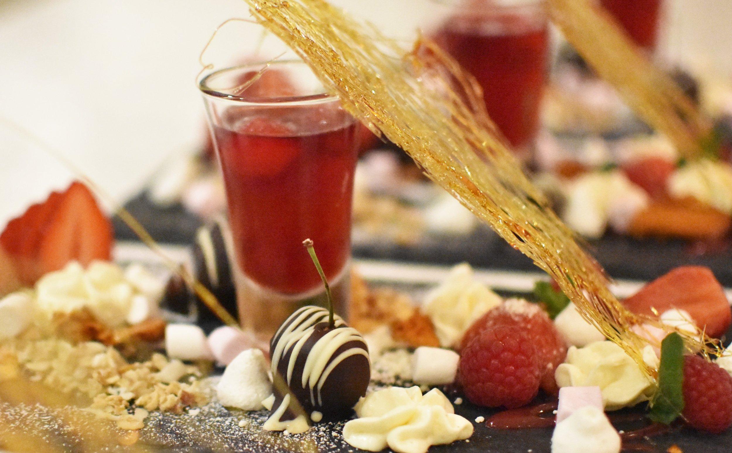 ChefGary trio of desserts