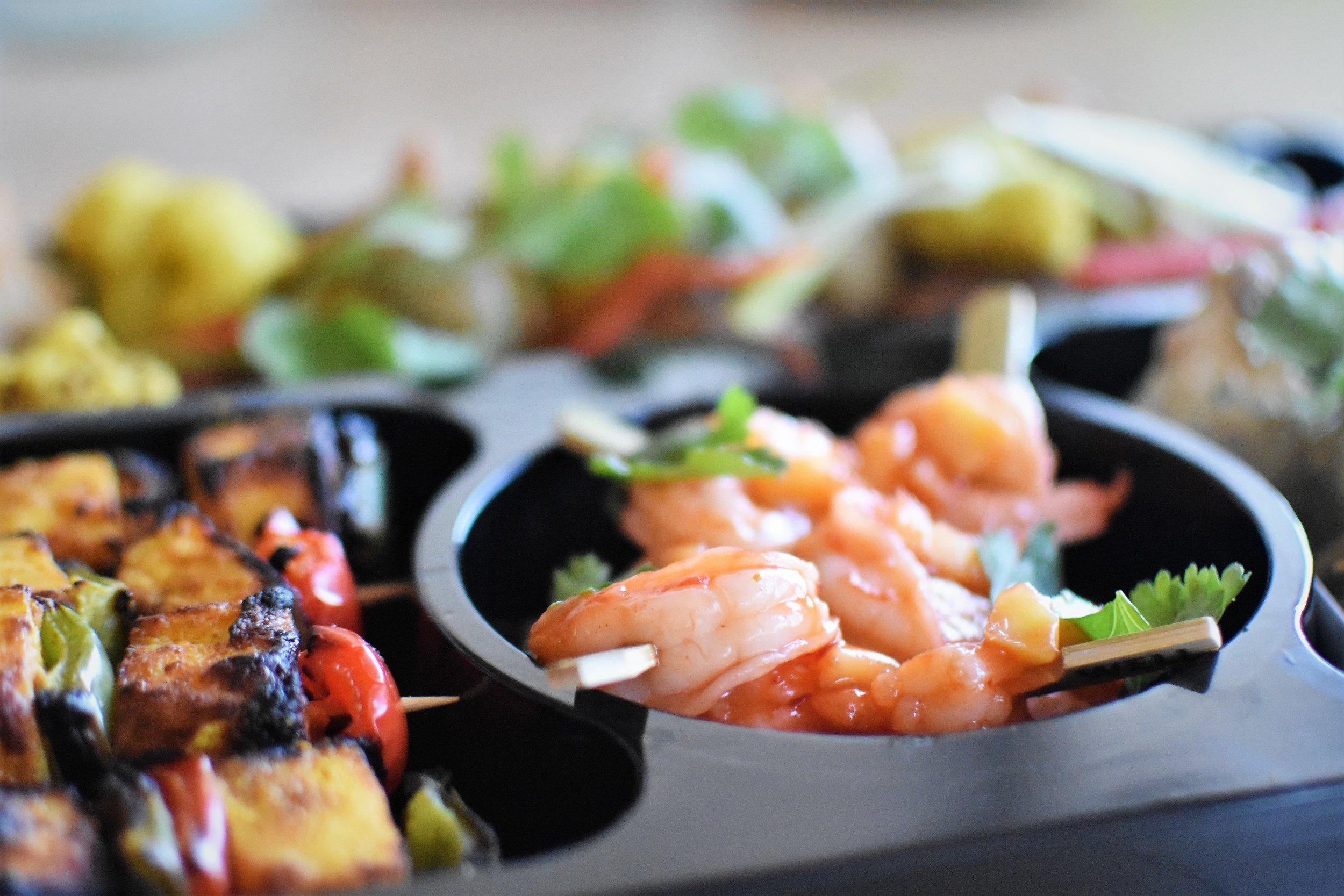 Tapas platter ChefGary
