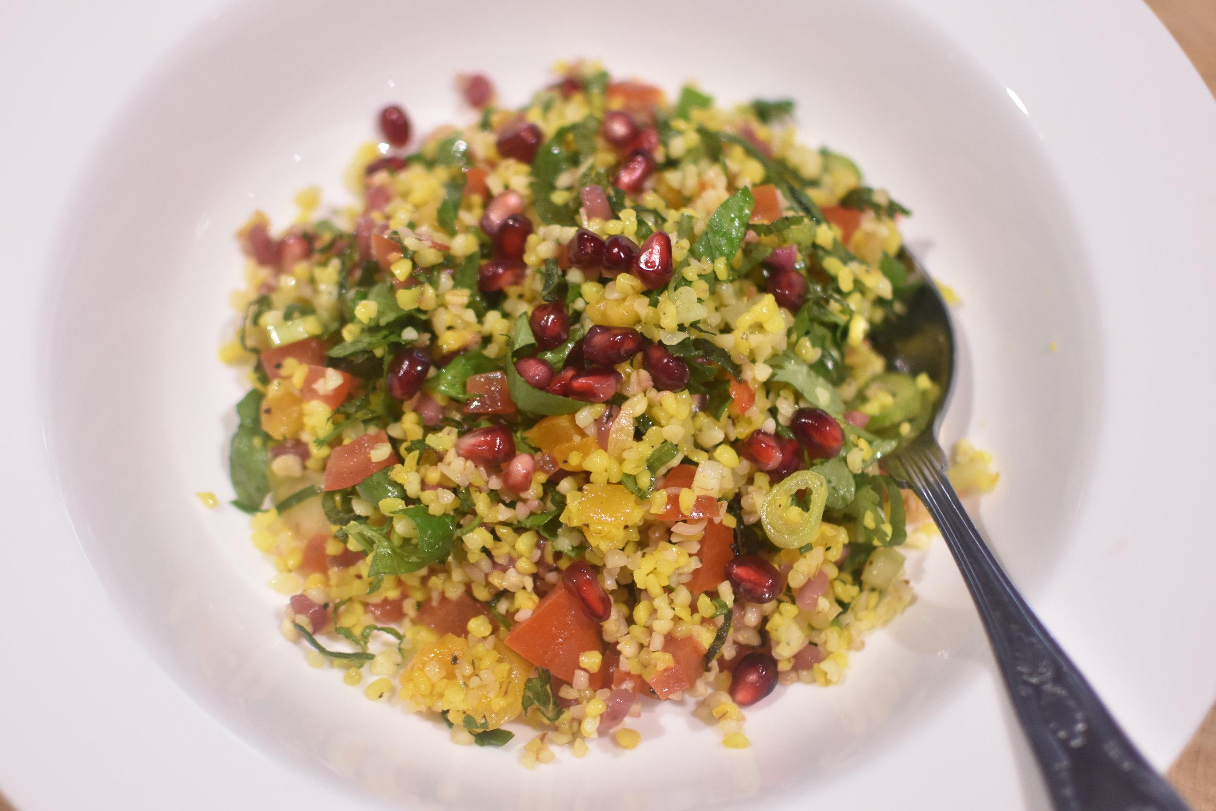 Bulgar wheat - Quinoa - ChefGary