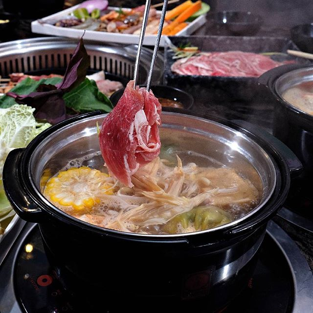 Dip in your favorites! Create your own and warm-up your day. Tag your hotpot buddies now! ;) For reservations, contact us at (02) 845 4647.  #TongYangPlus #GrillAndHotpotAllYouCan