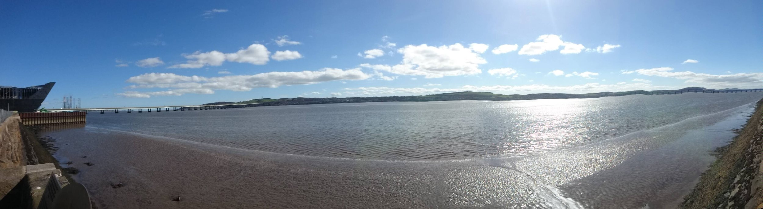 View from Dundee over the Firth of Tay / Jenny Eve