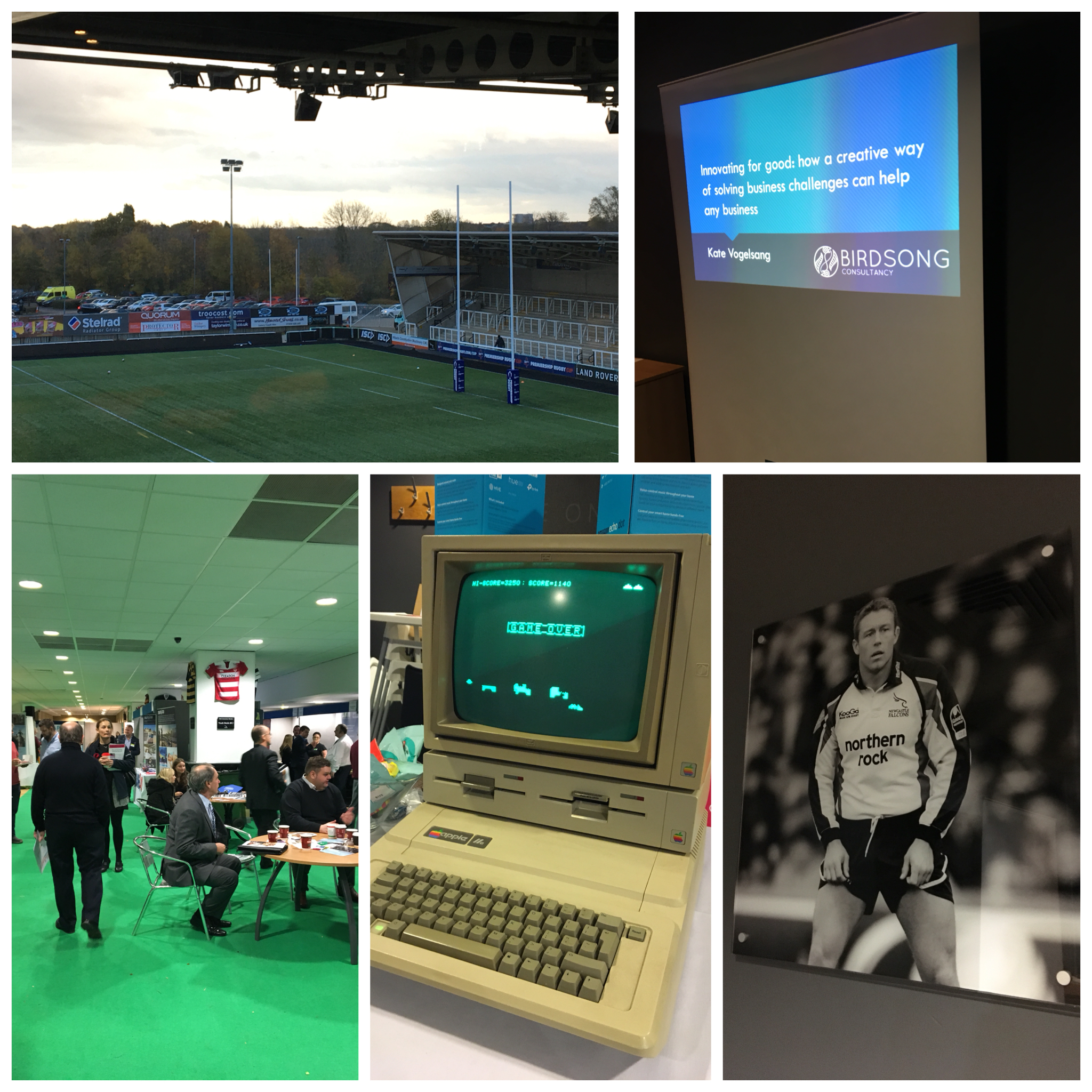The NE Expo at Newcastle Falcons rugby ground on 7 November 2018