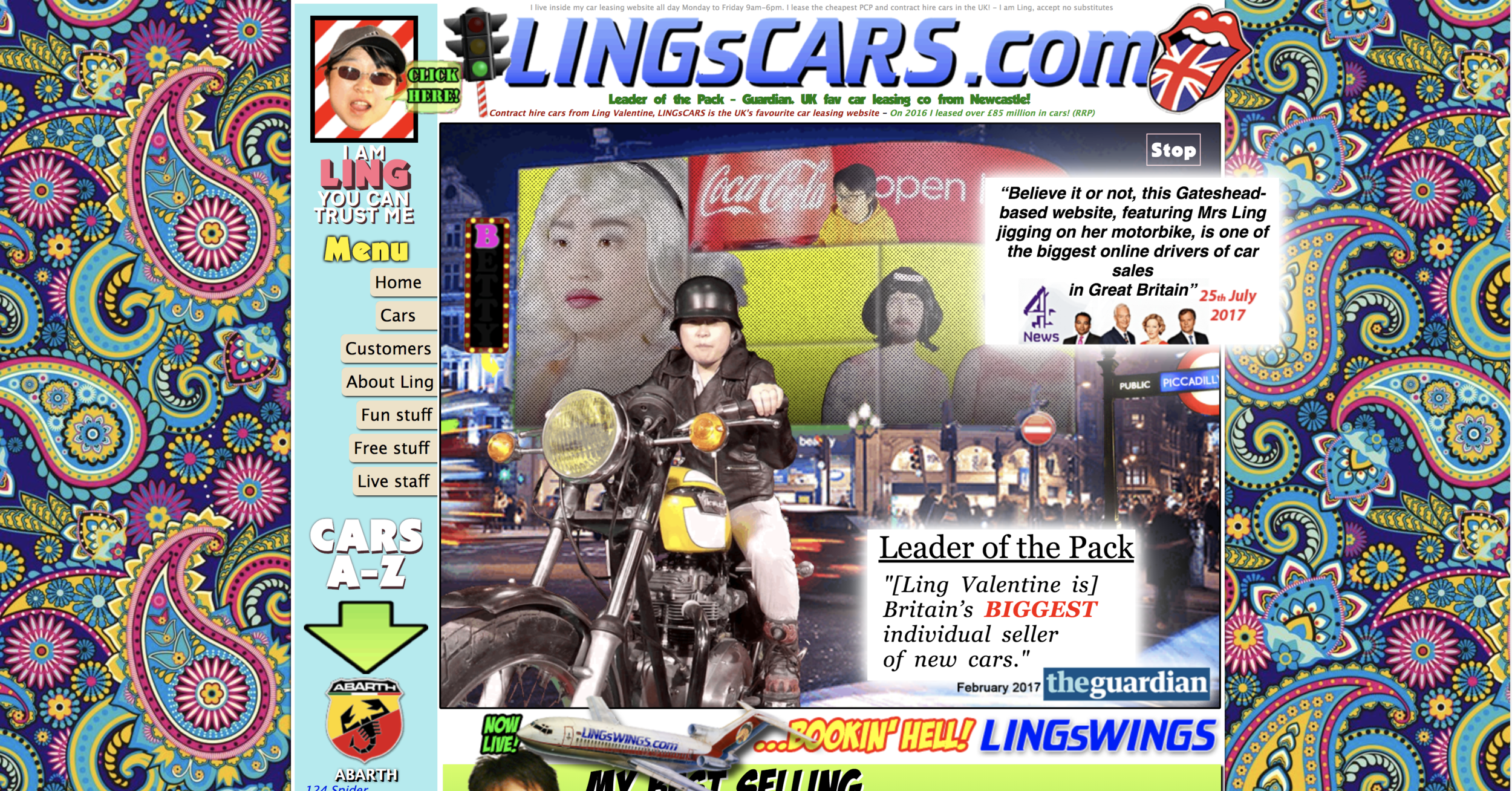 You don't to end up with a website like this … or do you? Despite the hilarious look and feel,  https://www.lingscars.com/  generates rather a lot of money for its owner.