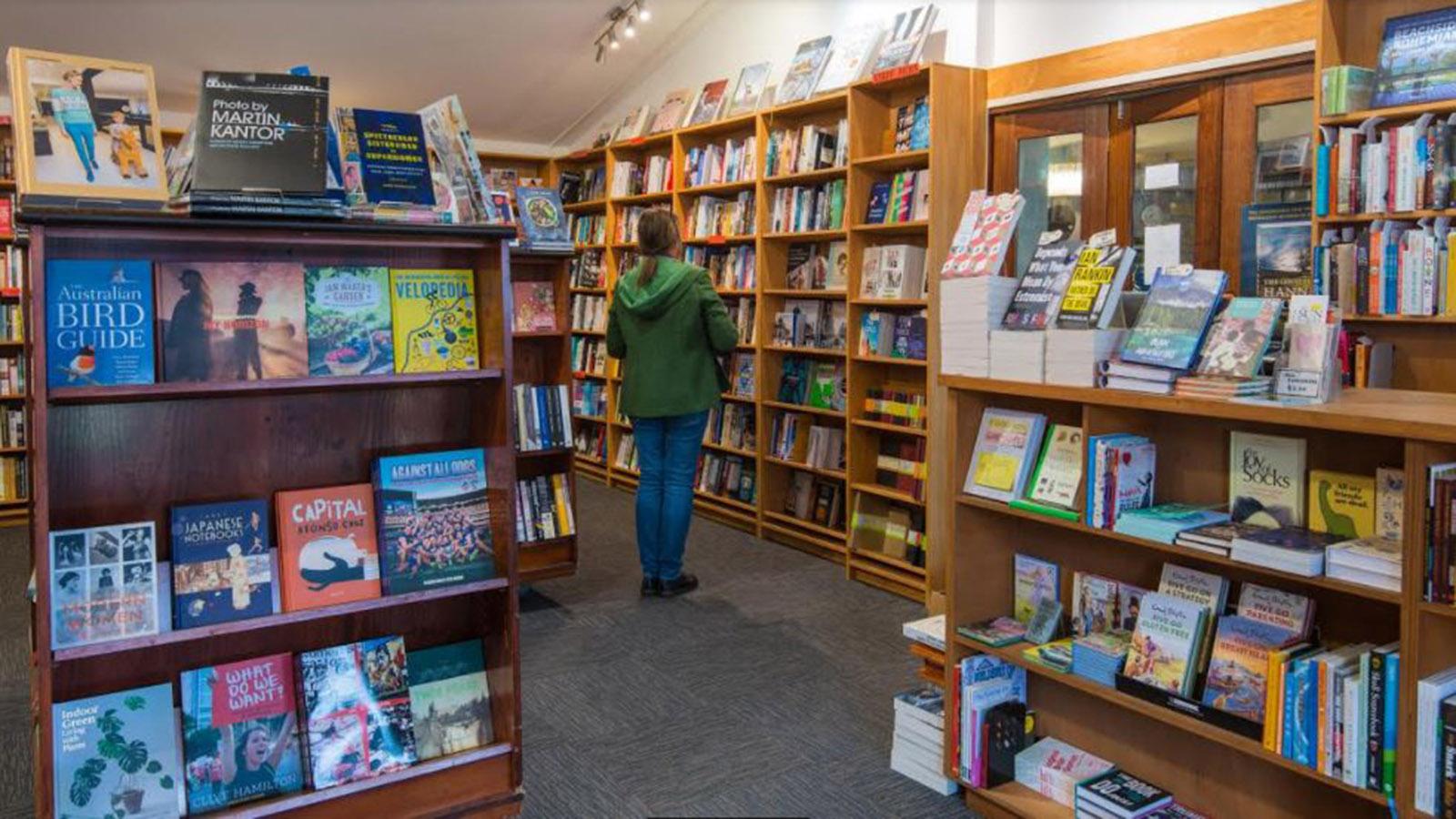 The Sun Bookshop。图片片来自于Visit Melbourne