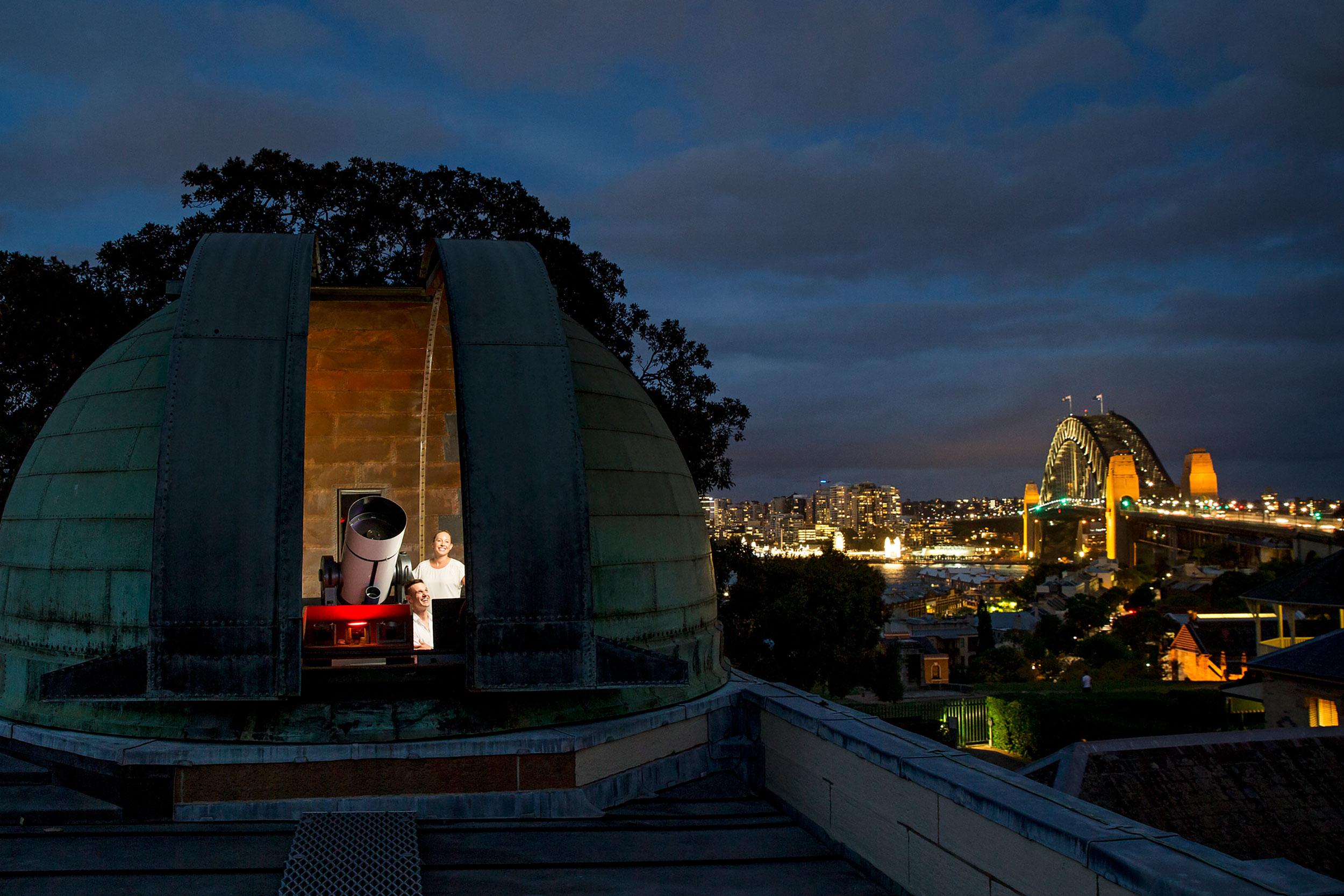 悉尼天文台(图片来源:maas museum)