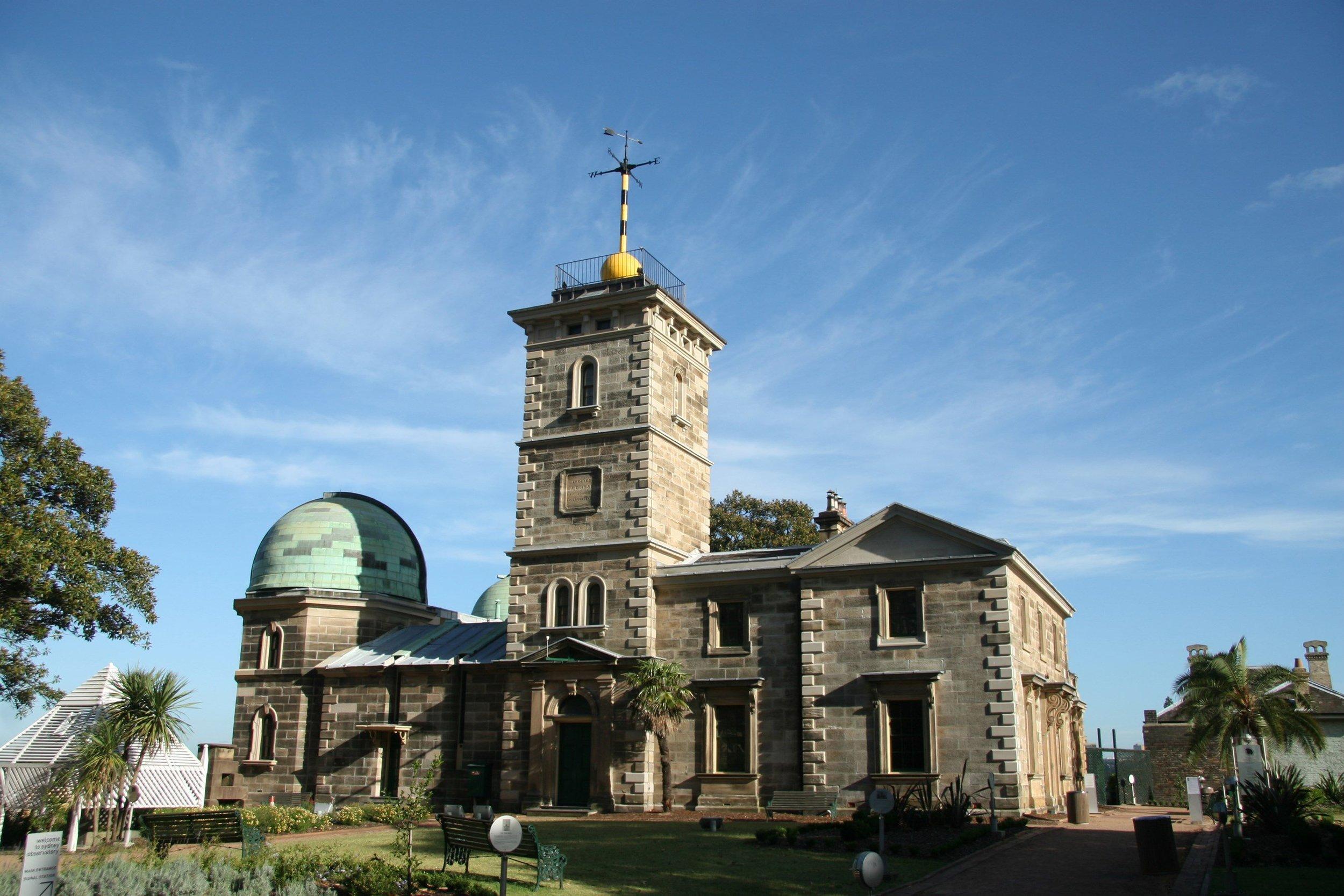悉尼天文台外观 (图片来源sydney.cm)