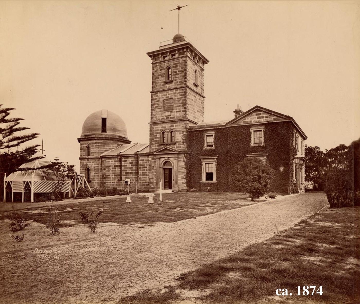 1874年天文台(新州州立图书馆)