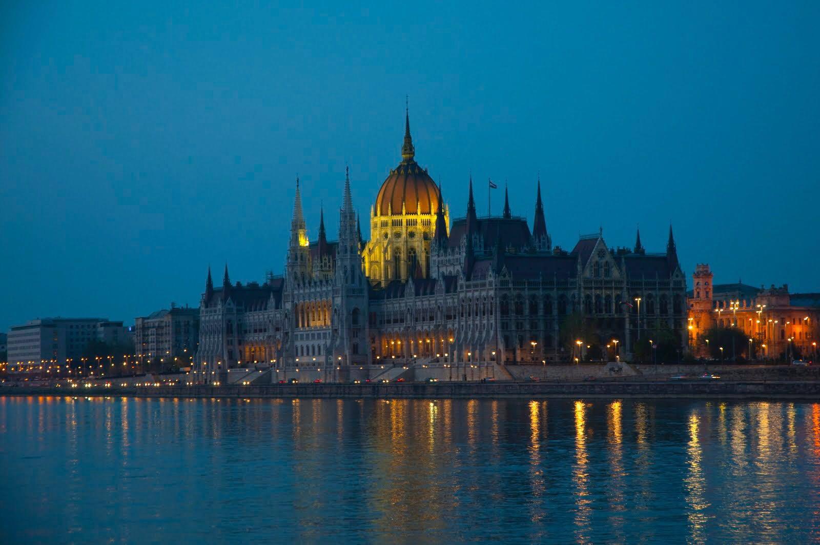 匈牙利国会大厦(作者摄)
