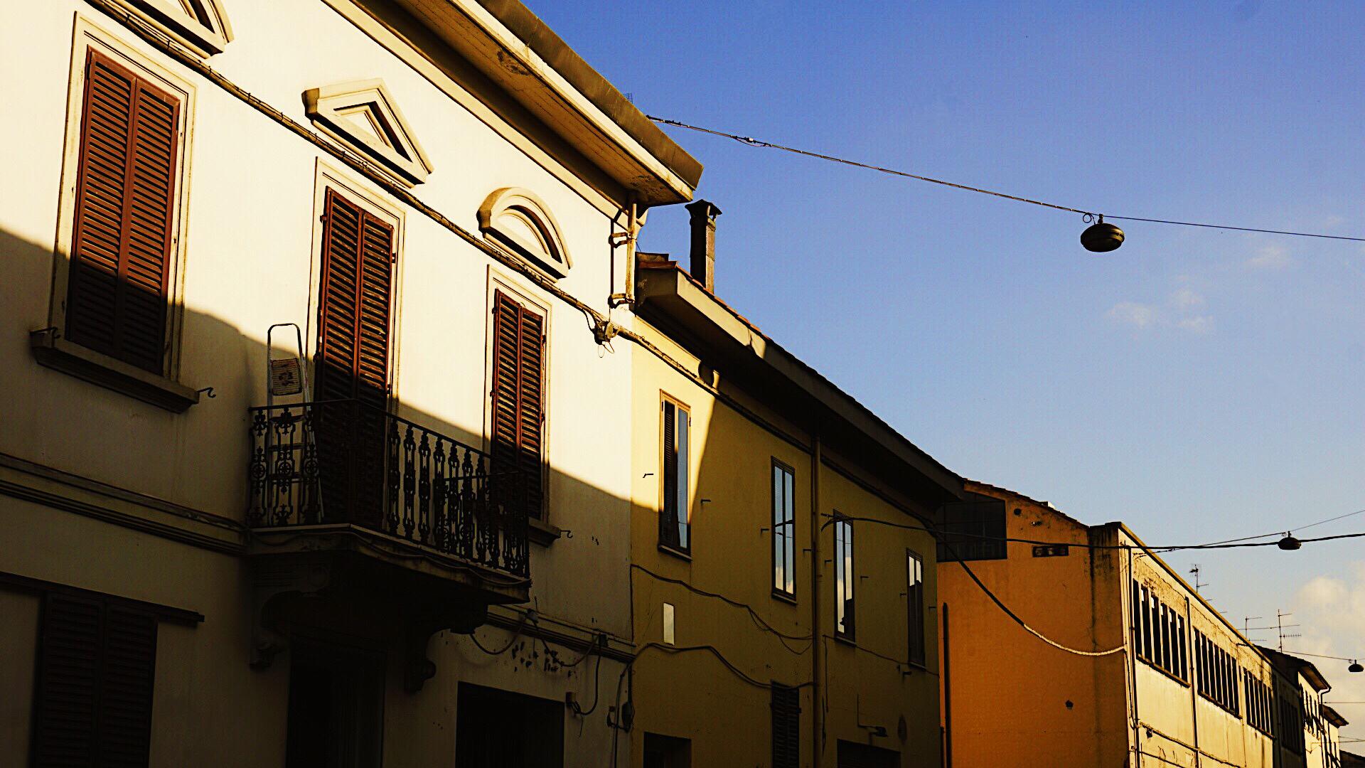 普拉托的城中街景