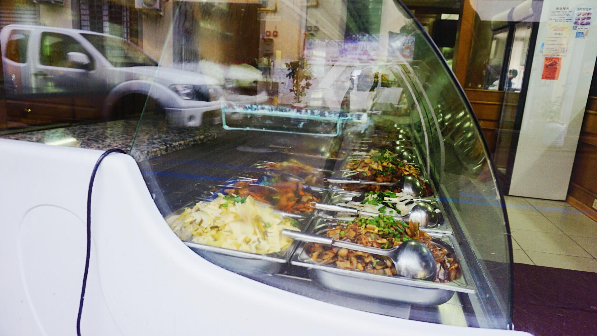 中国城中售卖的的便宜快餐
