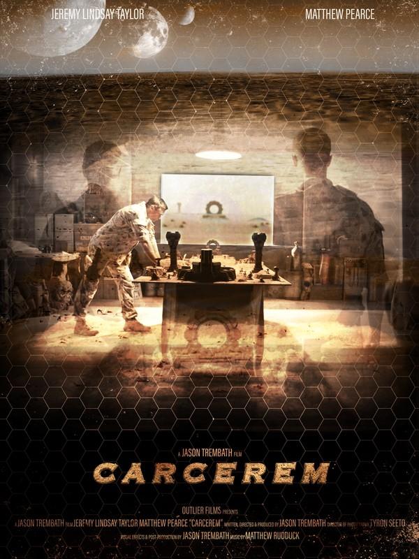 CARCEREM    影片讲述了选择留在Carcerem偏远沙漠星球上一群士兵的生活。    片长: 6:40 分钟   国家: 澳大利亚  导演:  Jason Trembath