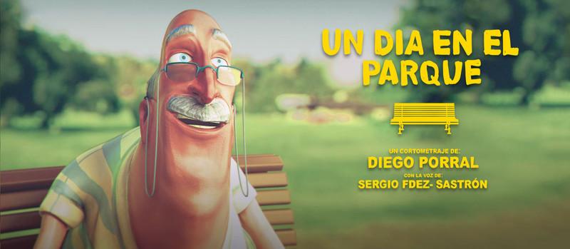 A day in the park    一位老爷爷向他的子孙讲述过去事情是怎样的…或者现在事情又是怎样… …    片长: 2:55 分钟   国家: 西班牙  导演 :Diego Porral