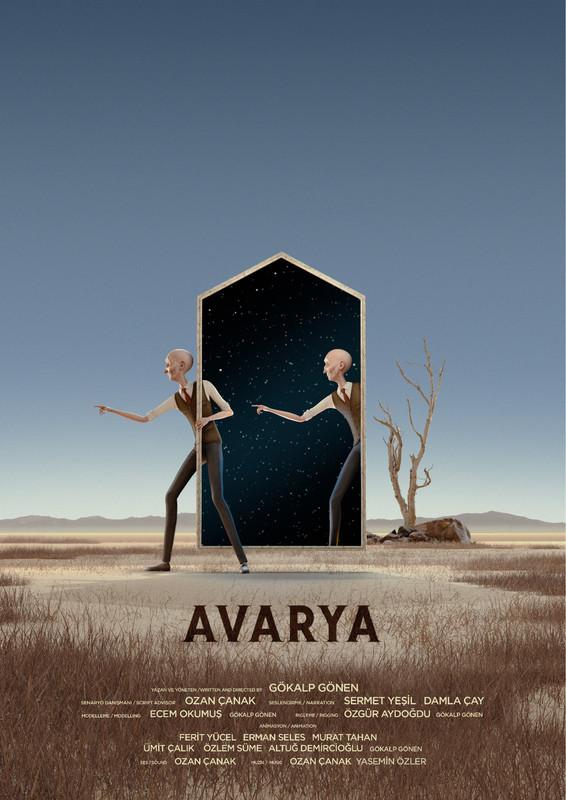 Avarya    他抱着寻找可居住星球的希望。然而,在他的机器人侦查发现每个候选星球都不适合人类居住后,他被困在飞船上。    片长: 19:58 分钟   国家: 土耳其  导演 :Gökalp Gönen