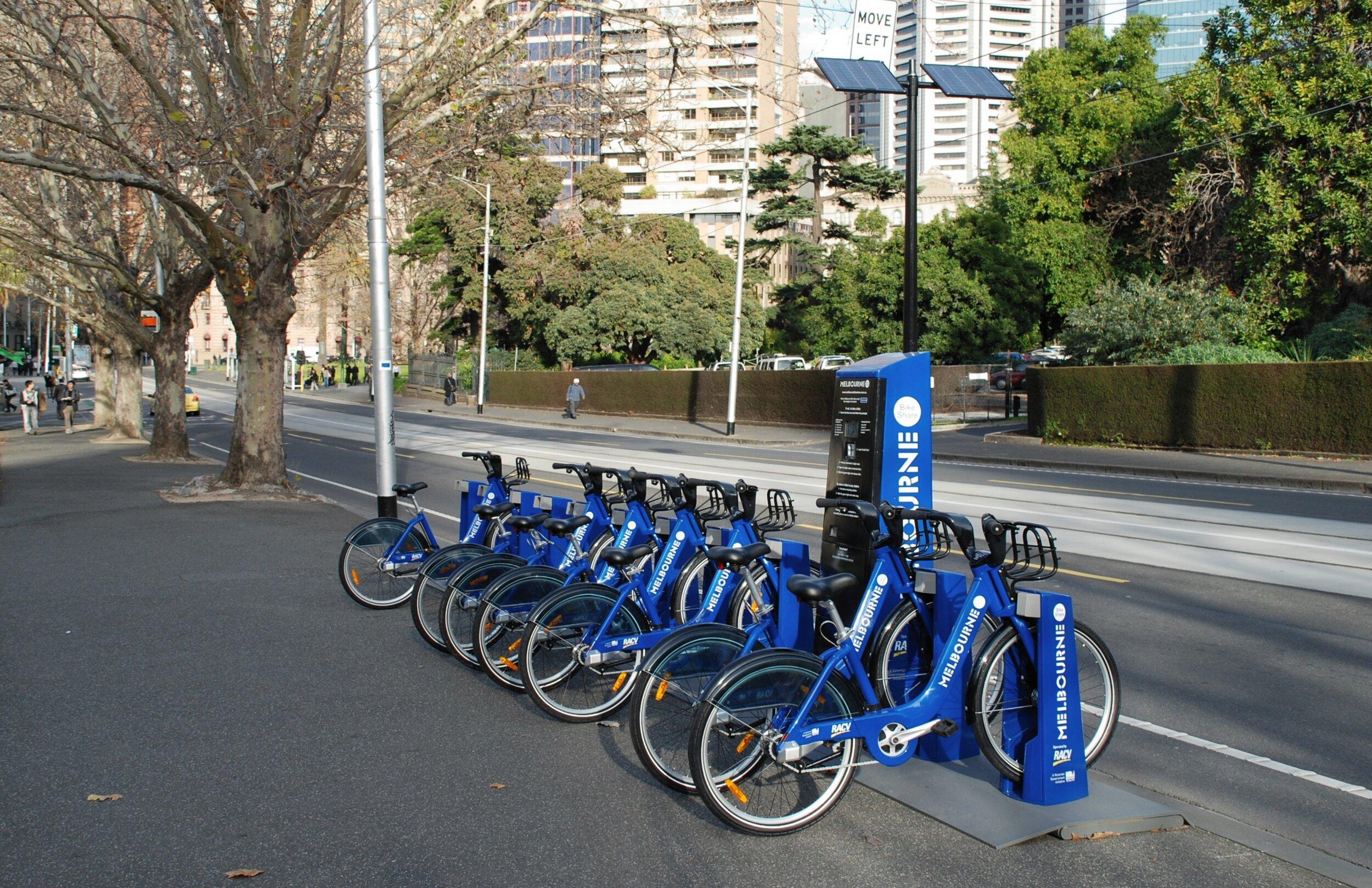 墨尔本的共享单车