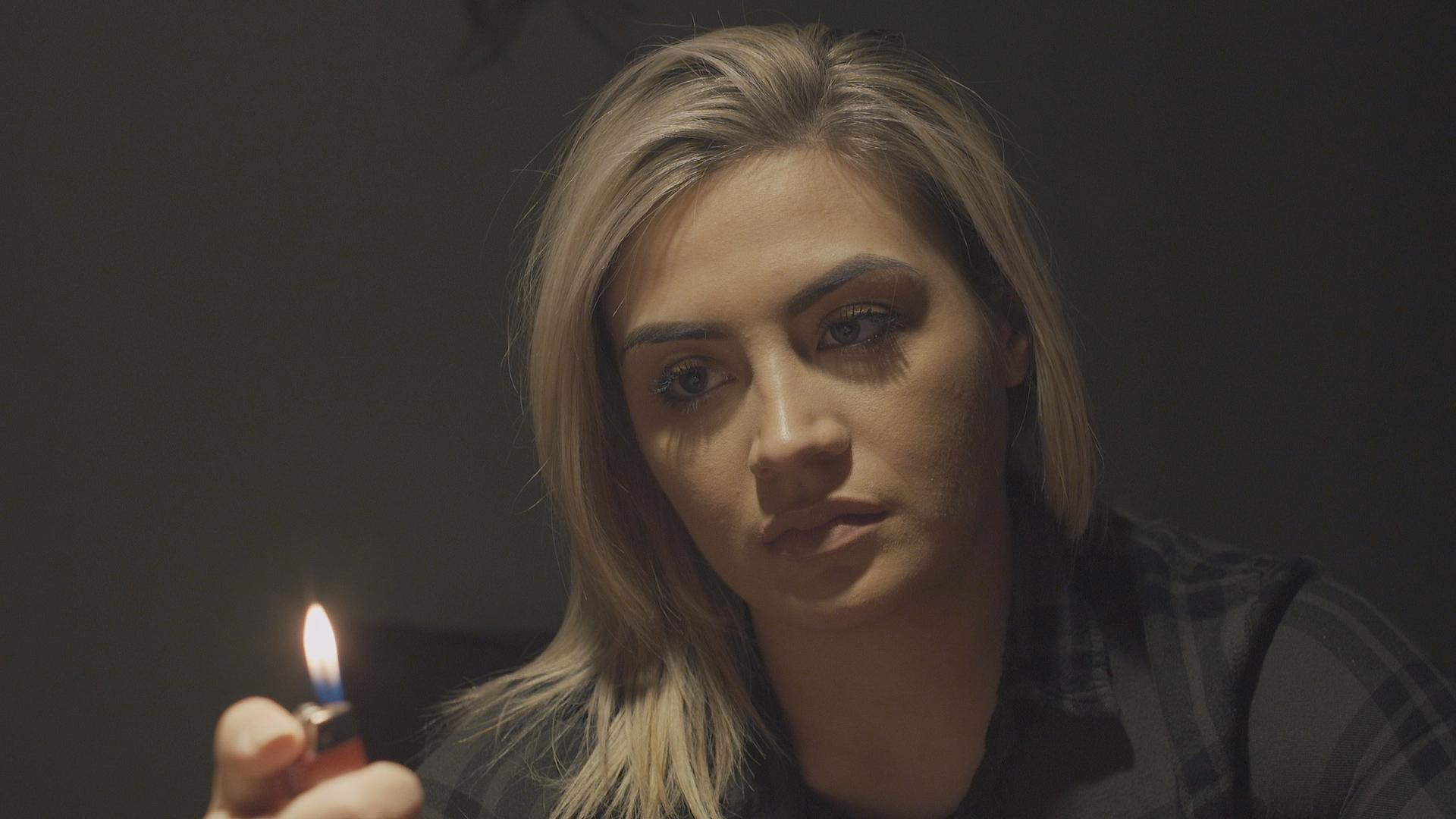 Tiffany's haunting story continues (this season portrayed by Harley Cabrera)