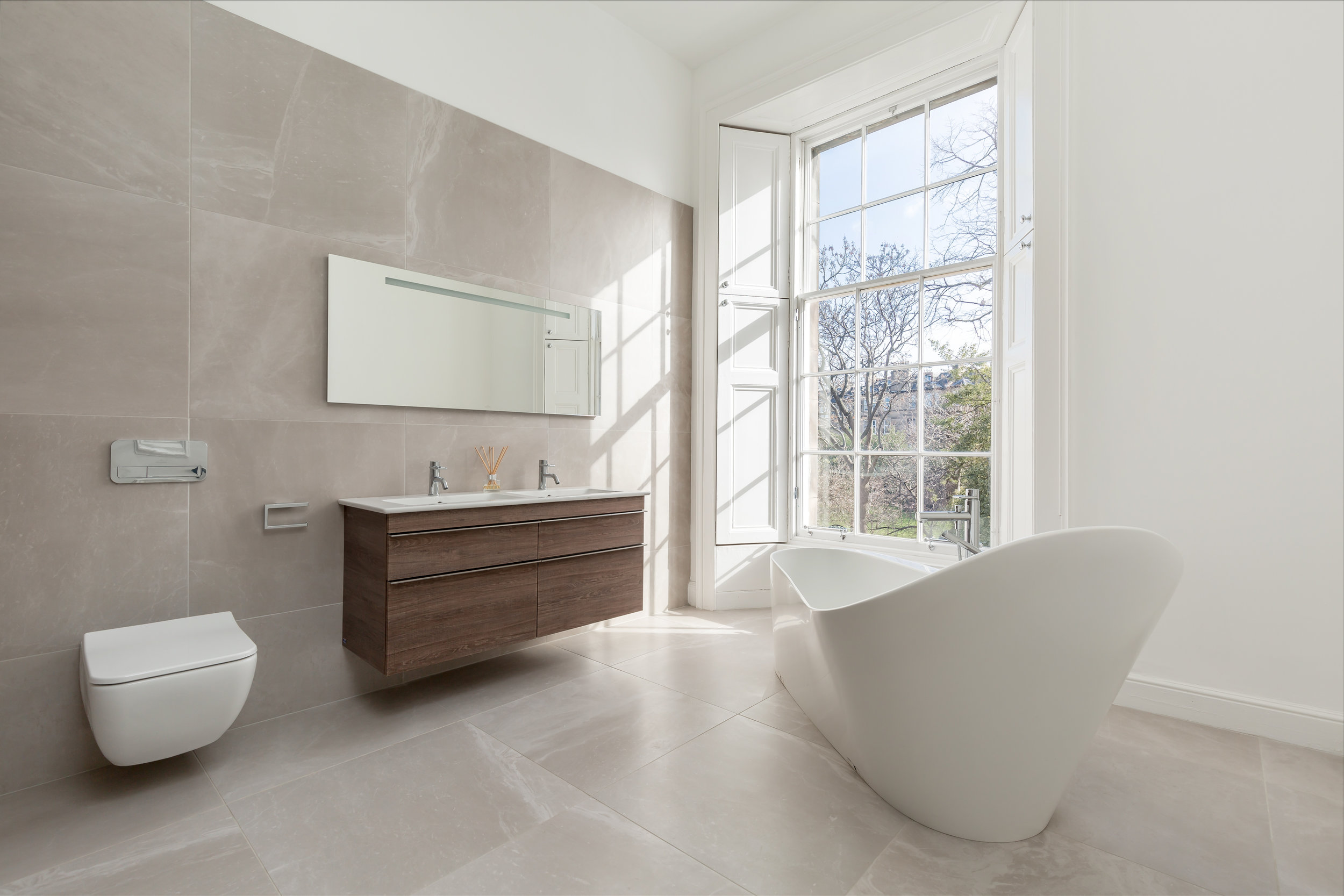 Luxury - Utilising light and space, together with our design flair we will create your new wellness area - turning an expected space into an exceptional space.
