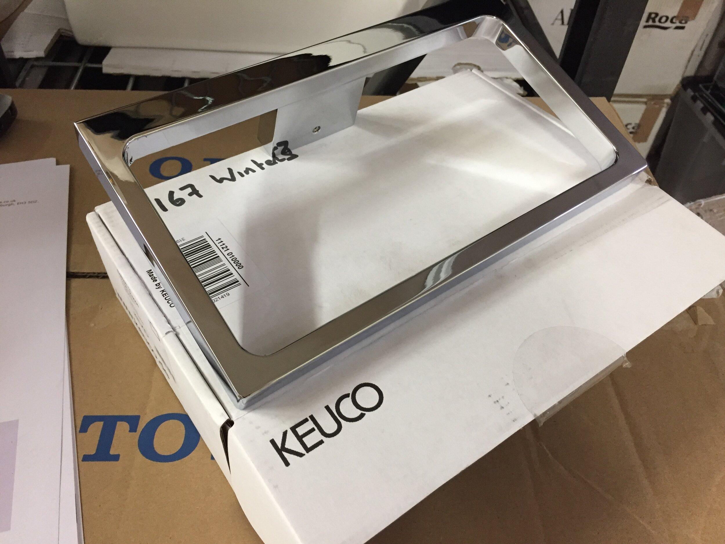 Keuco 11121010000 Edition 11 Handtuchring verchromt