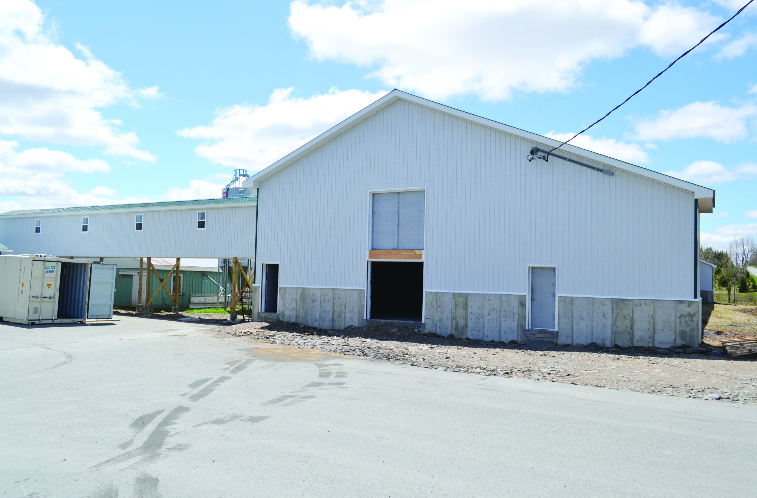 DeLong Farms invested approximately $1.8 million in this new layer barn