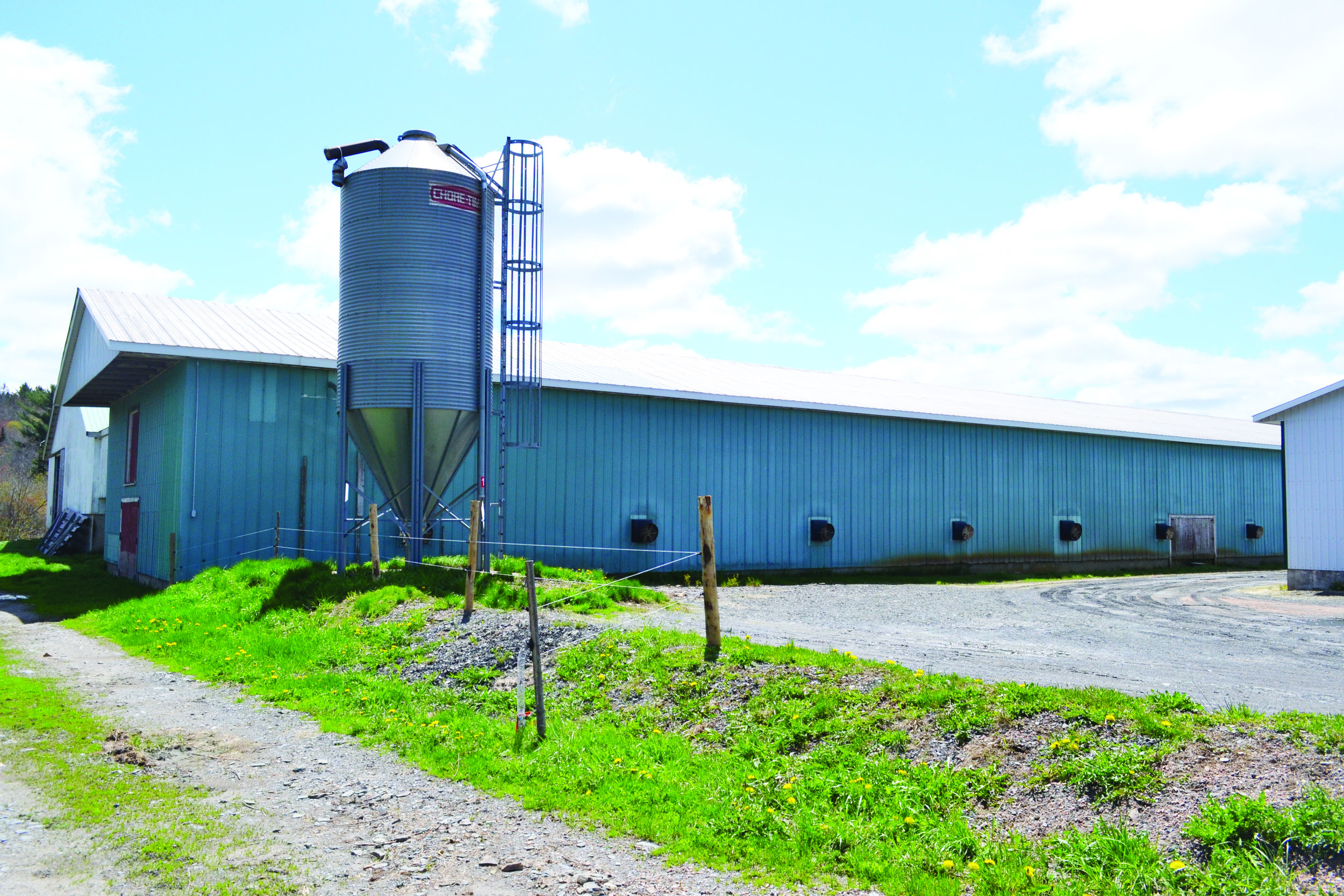 The new layer barn at DeLong Farms replaces this one, which was built in 1975