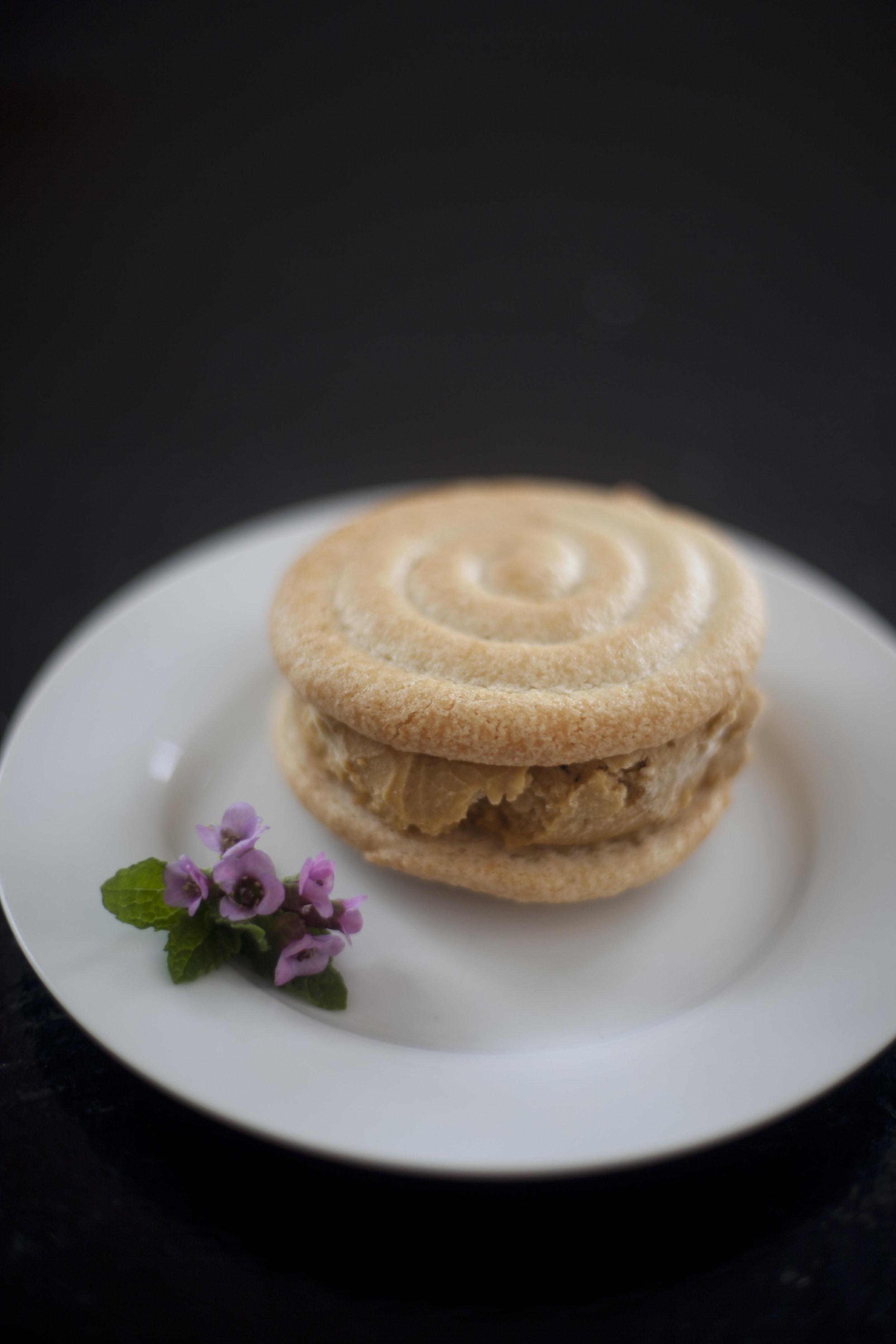 French Macaron Ice Cream Sandwich