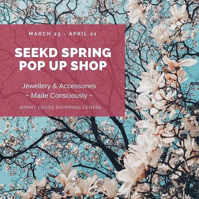 A must see, the only platform curating exclusively sustainable ♻️ and ethically made jewellery and accessories is live in Brent Cross 🥳The shop is filled with unique finds and spring vibes🎍and Thursday eve you get to meet the makers over bubbly 🥂Grab your squad and come along 😜🛍 . . . #collaborativeart #sustainablefashion #circulardesign #circulareconomy #indiebrands #meetthemakers #imadeyourbag #imadeyourjewellery #ethicalfashion #uniqueaccessories #finejewellery #popupshop #recycledmaterials #handmade #springpopup #curatedgifts #curatedshop