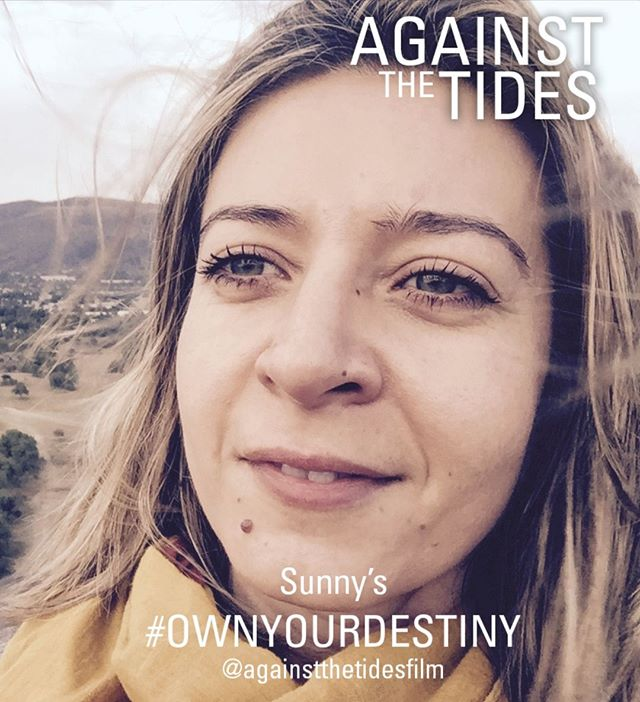 """Our Associate Producer Sunny Dimitriadou talks about her take on #ownyourdestiny - """"1992 was a good year. It was spring. I was going to graduate school in Greece and was studying hard to go to law school, when the accident happened… I was hit by a motorbike, which left me with serious fractures on my right leg. A titanium external Robocop-style handle was keeping my bones standing for 3 months and ripping my eighteen year-old ego apart. All the long-awaited parties ahead got wiped from my diary along with any desire to continue studying. My end-of-year exams were a disaster. I failed. A family emergency meeting was called and a decision was made: I would be sent to study abroad in the UK. My bones eventually healed and, although my legal drama fascination never weaned, when I saw one of the most amazing TV commercials for a telecoms company, it convinced me: I wanted to make ads and would study media. Now, instead of arguing for defendants in a courtroom, I sign my emails as 'Senior Producer'. So often our lives are determined by our surroundings and by chance events, but there's never NOT an option to choose and to take charge. So here we all are; 2019 is a good year."""" ⠀ #againstthetides #strongwomen #borntotravel #liveintrepid #swimming #travelful_life"""