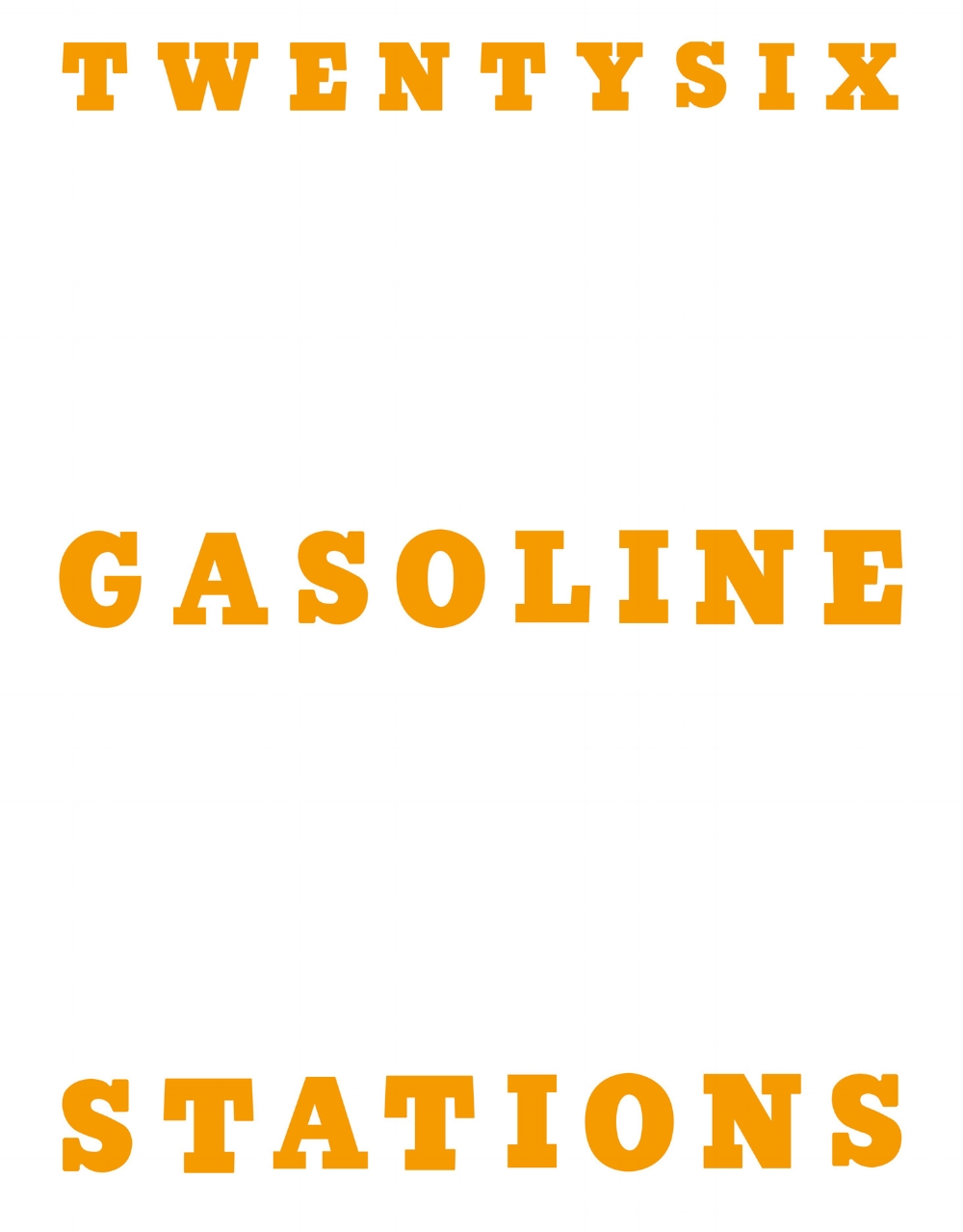 TWENTYSIX GASOLINE STATIONS 2017