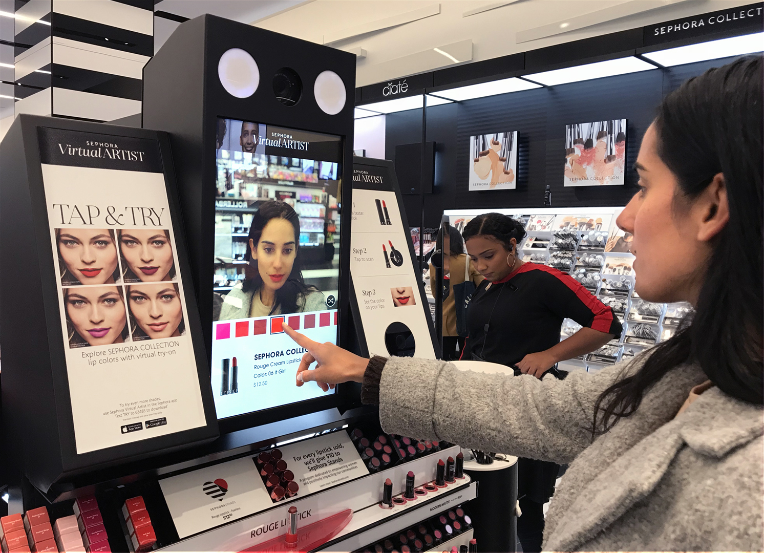 Sephora — Perch - Retail Marketing Lift-And-Learn Digital Signage, Kiosks,  and In-Store Analytics Software