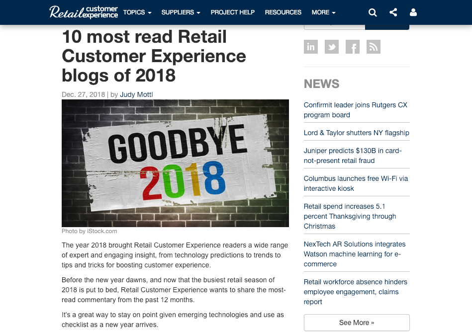 Perch_Retail Customer Experience