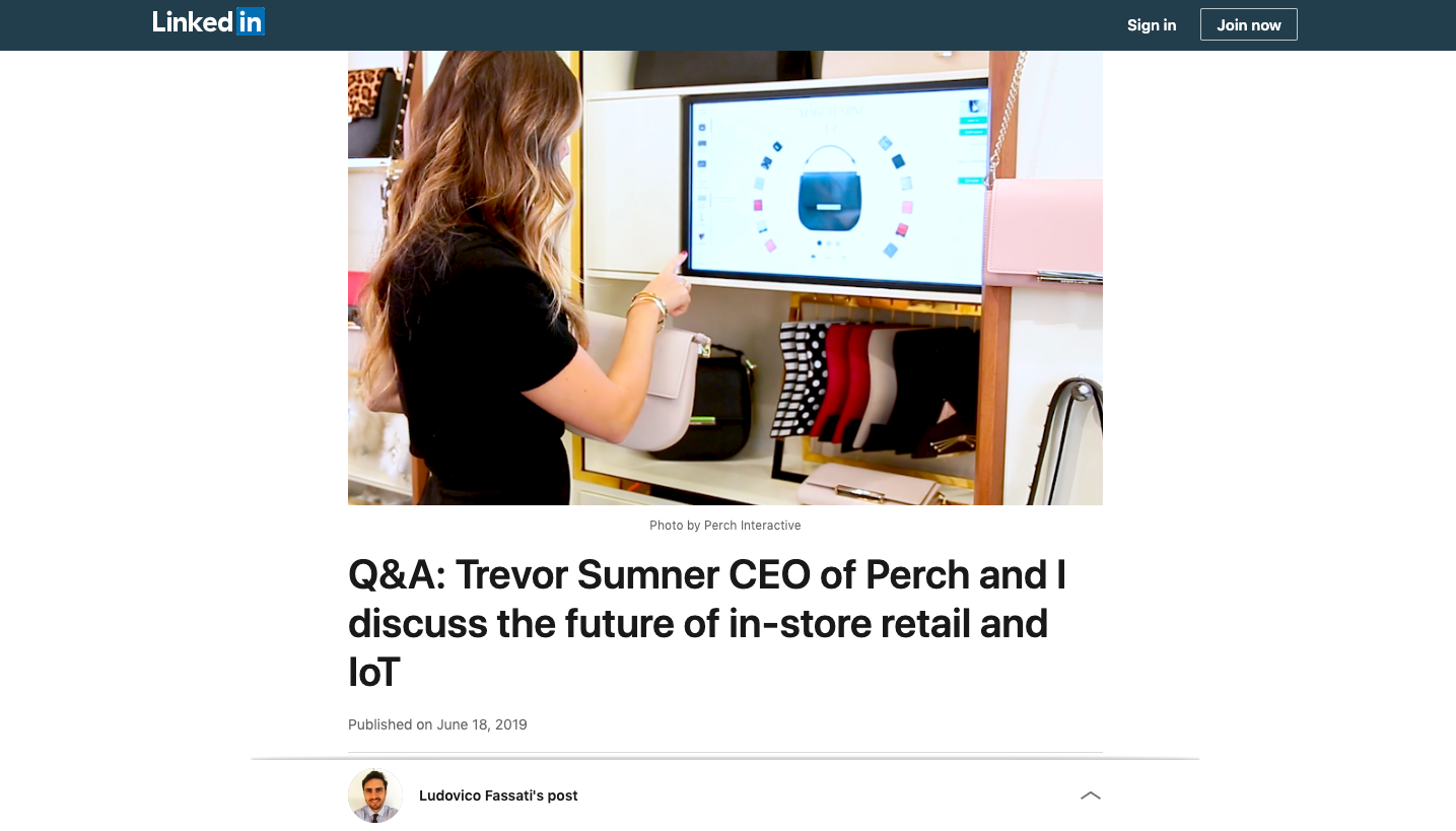 linkedin-future-of-retail-IoT-perch