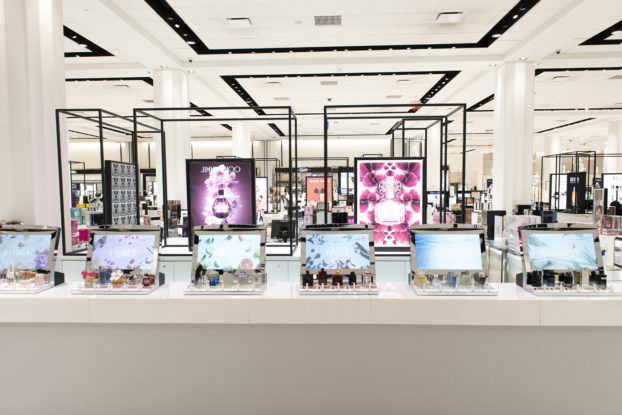 In June 2019, Macy's — partnered with digital display firm Perch — installed digital fragrance bars at 34 locations across the United States. — Macy's     Read the full article