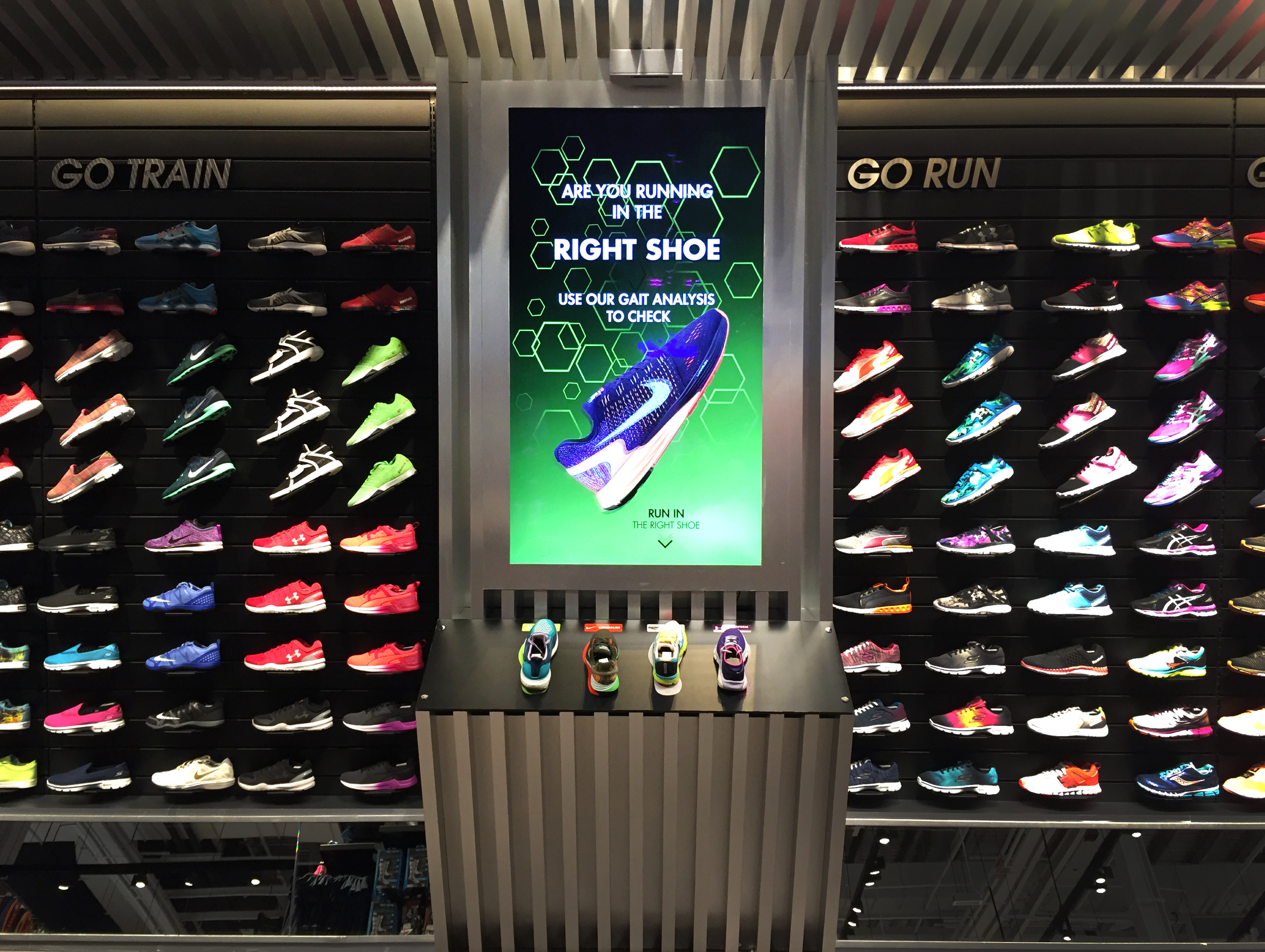 Learn more about our shoe deployment with GoSport