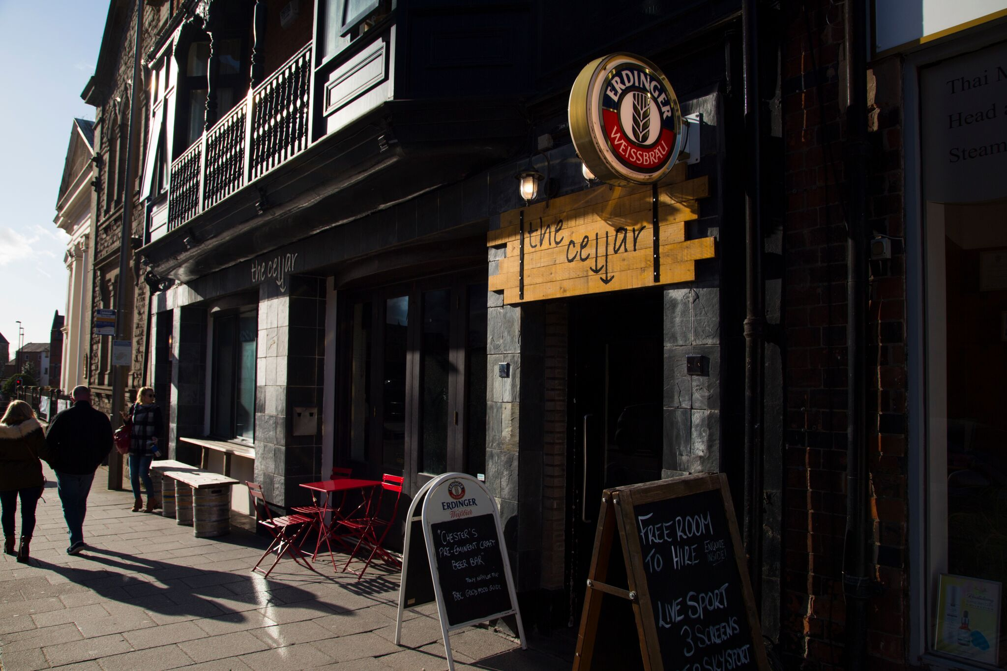 'We are all about great beer, knowledgeable staff and excellent company here in Chester' -