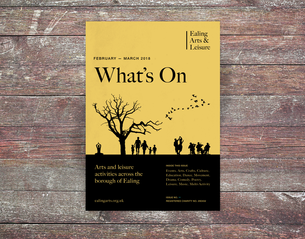 Ealing Arts & Leisure's — What's On brochure