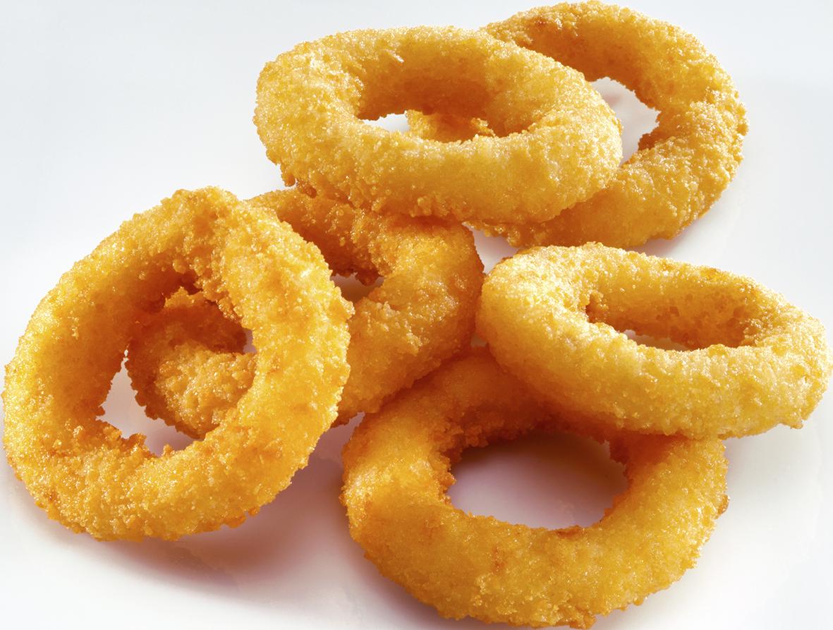 Onion rings - Frittierte Zwiebelringe7.50