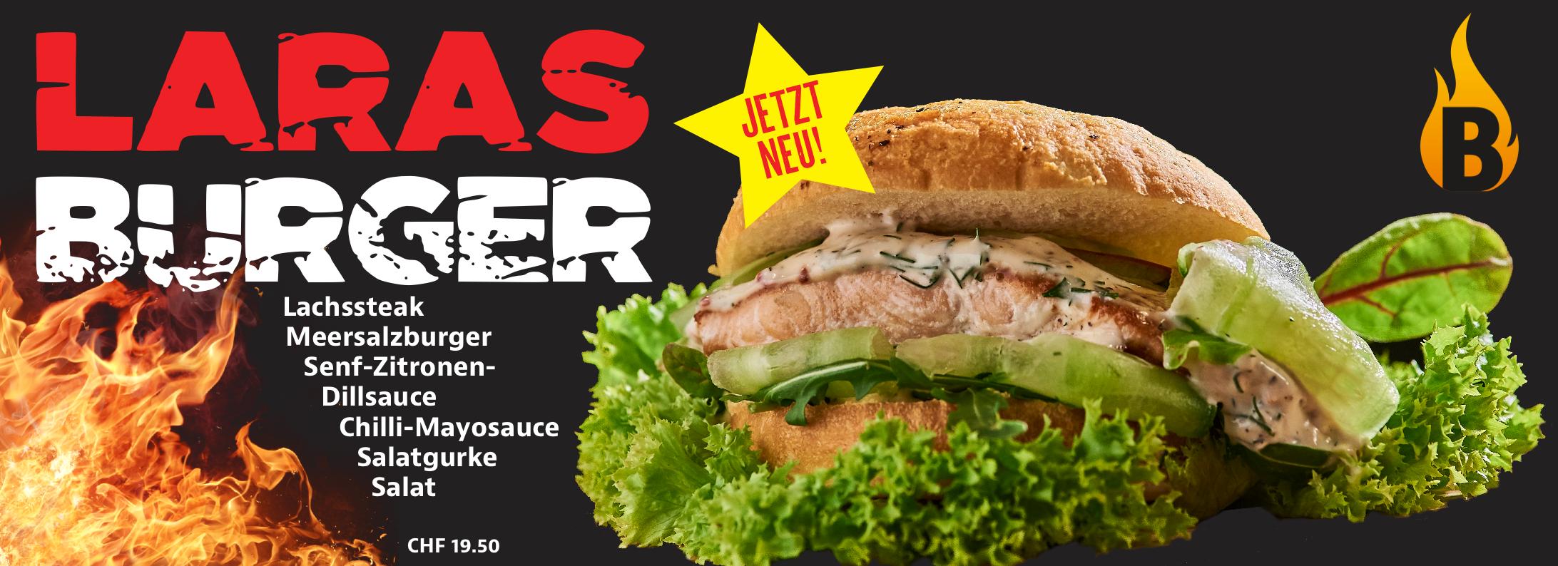 Lara Burger TheBurgerBar Oftringen