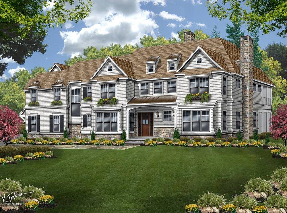Basking Ridge Custom Home