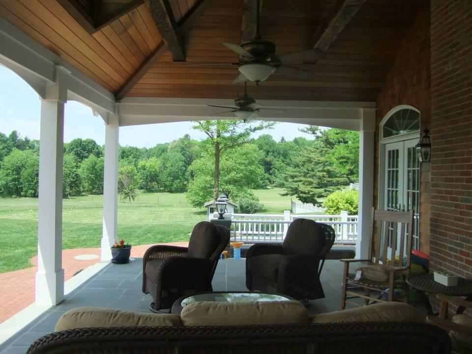 Bernardsville Covered Terrace